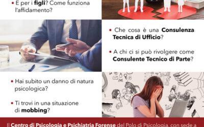 Sportello Telefonico Gratuito di Orientamento e Consulenza in Psicologia Giuridica